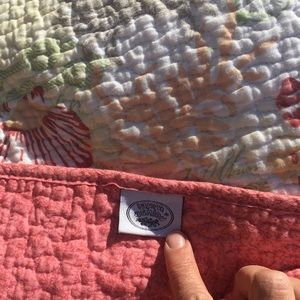 Vintage Laura Ashley Seaside Quilt